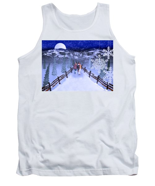 A Walk In The Snow 2 Tank Top