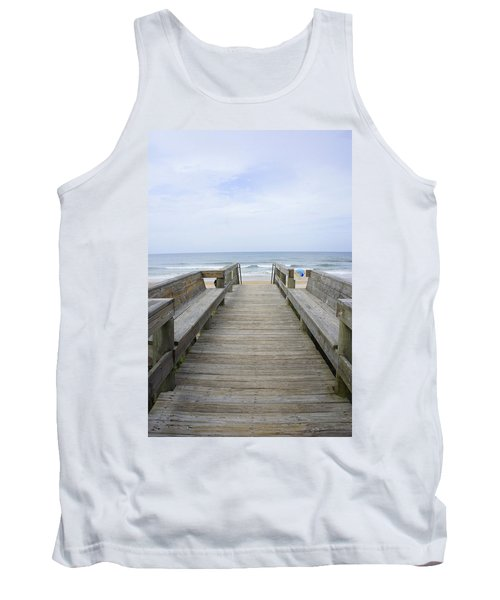 Tank Top featuring the photograph A Welcoming View by Laurie Perry