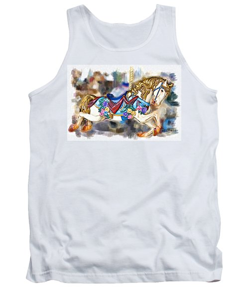 A World Of Popcorn And Candy Tank Top