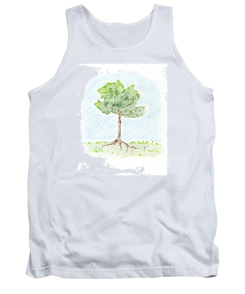 A Young Tree Tank Top