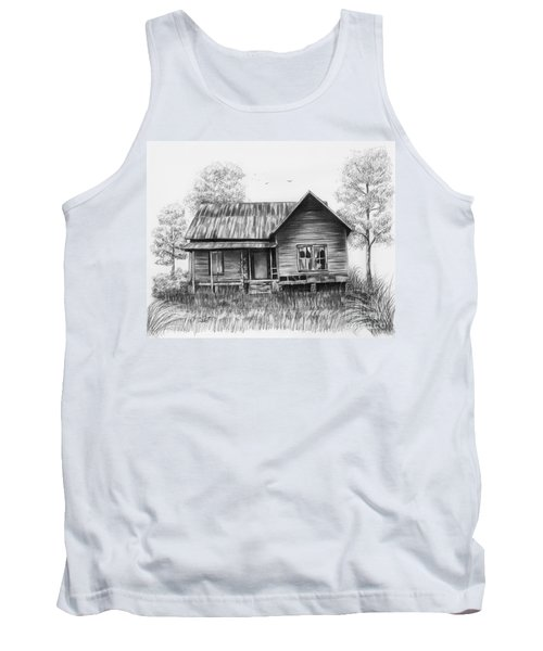 Abandoned House Tank Top by Lena Auxier