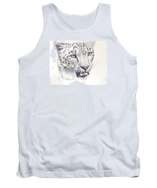 Above The Clouds - Snow Leopard Tank Top