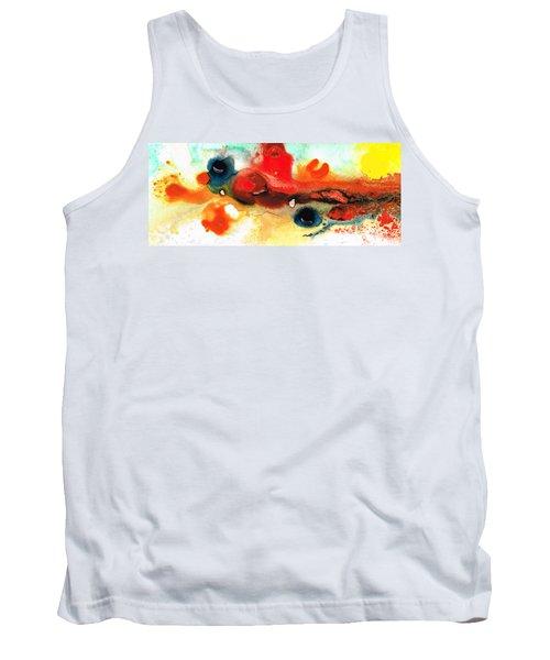 Abstract Art - No Limits - By Sharon Cummings Tank Top
