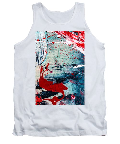Abstract Original Artwork One Hundred Phoenixes Untitled Number Six Tank Top