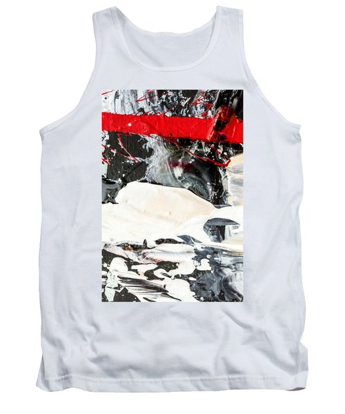 Abstract Original Painting Number Three Tank Top