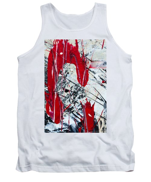 Abstract Original Painting Untitled Nine Tank Top