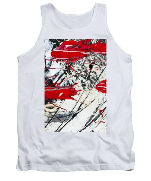 Abstract Original Painting Untitled Ten Tank Top