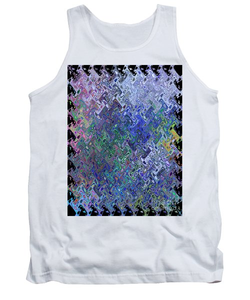 Abstract Reflections Tank Top