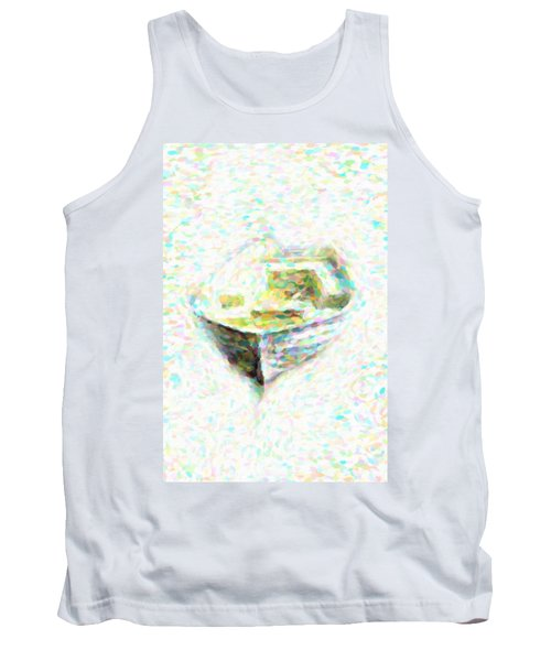Abstract Rowboat Tank Top