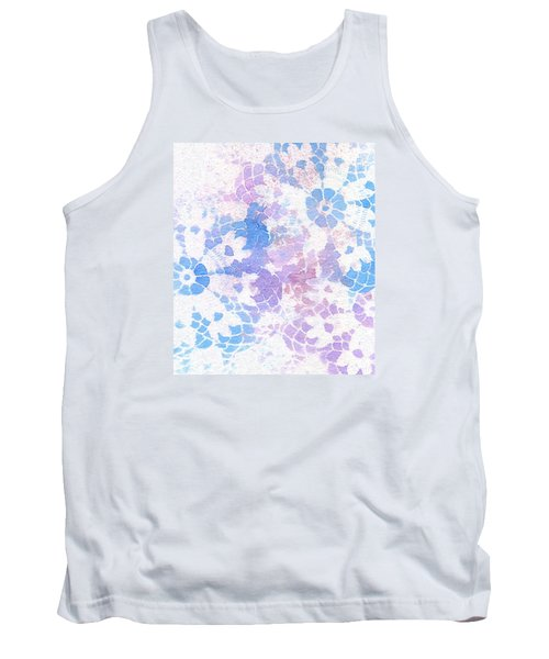 Abstract Vintage Lace Tank Top