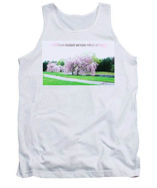 Tank Top featuring the photograph Abundant Blossom by Pamela Hyde Wilson