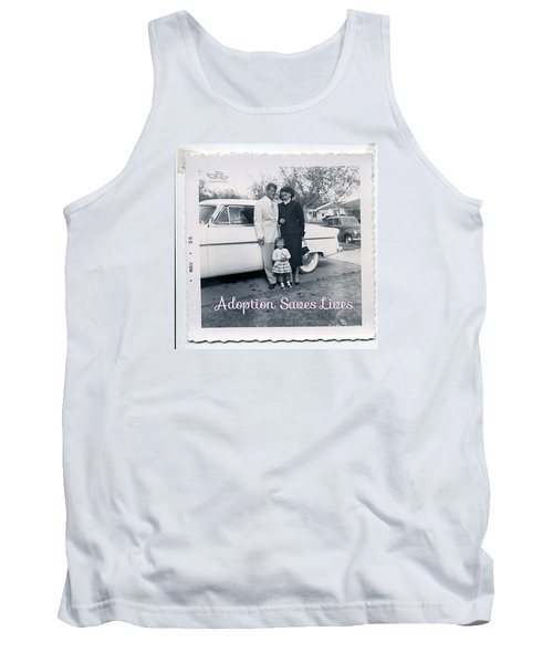 Adoption Saves Lives Tank Top
