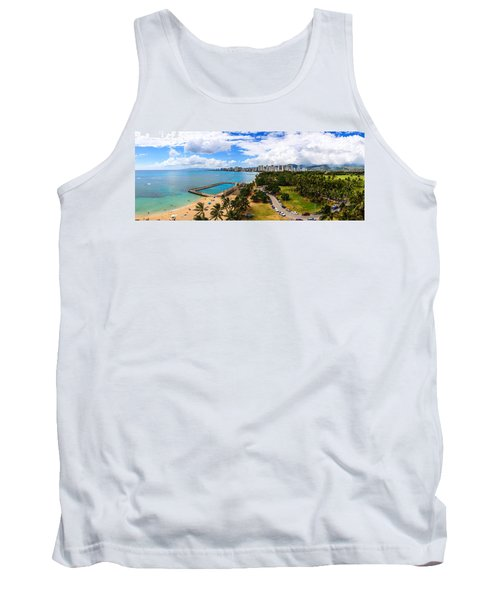 Afternoon On Waikiki Tank Top