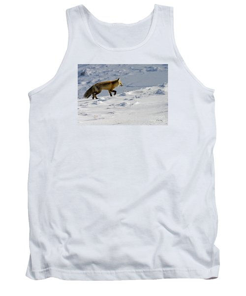 Against The Glare-signed Tank Top by J L Woody Wooden