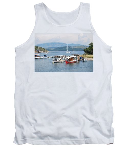 Agios Stefanos Tank Top by George Katechis