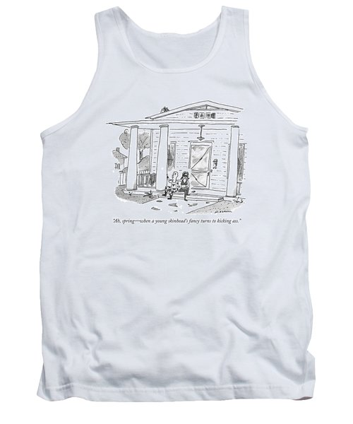 Ah, Spring - When A Young Skinhead's Fancy Turns Tank Top