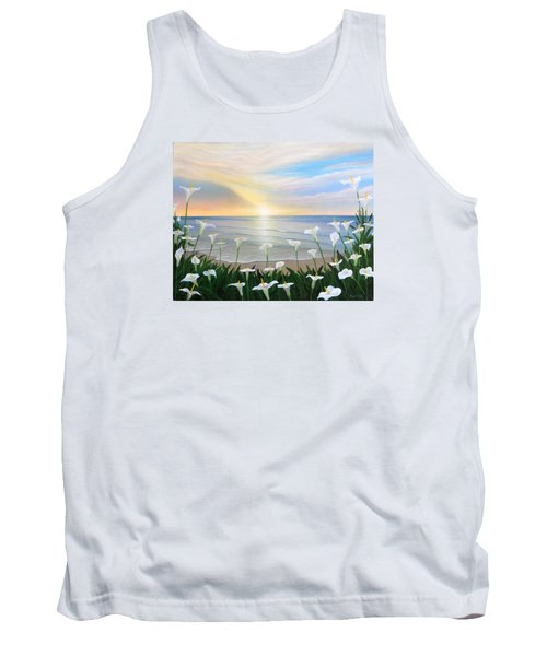 Alcatraces Tank Top by Angel Ortiz