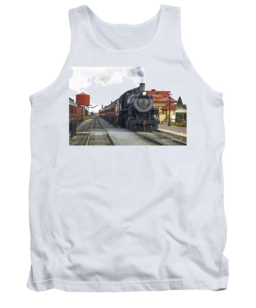 All Aboard Tank Top by Paul W Faust -  Impressions of Light