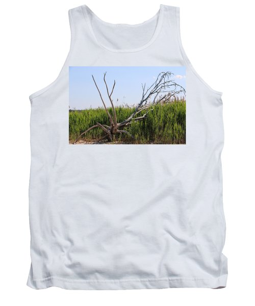 Tank Top featuring the photograph All Alone by Paul SEQUENCE Ferguson             sequence dot net