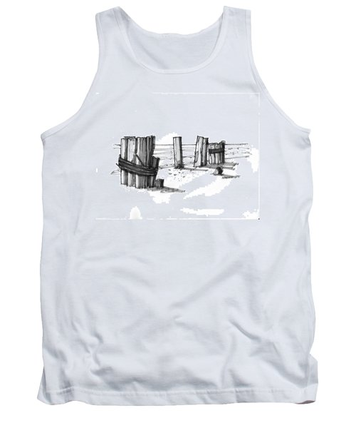 All That Remains Ocracoke 1970s Tank Top