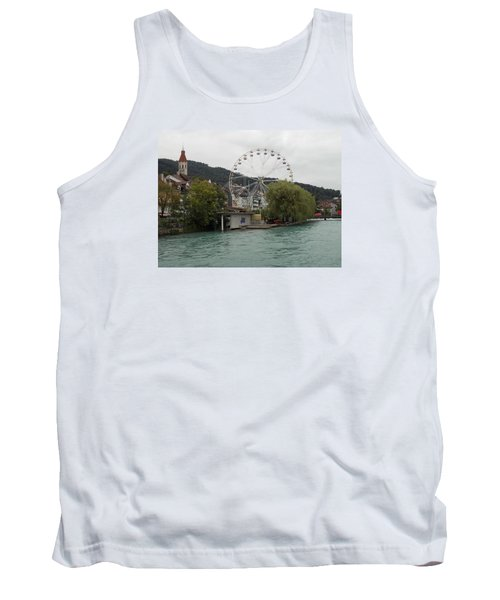 Along The River In Thun Tank Top