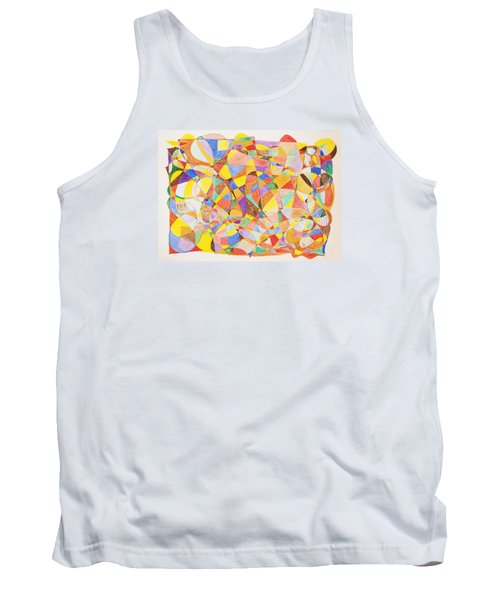 Tank Top featuring the painting Alternate Realities by Stormm Bradshaw