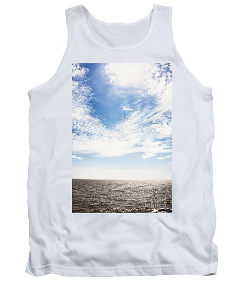 Altocumulus At Sea Tank Top