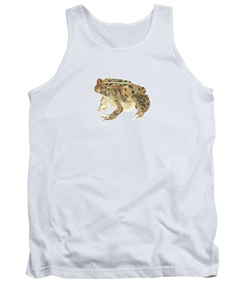 American Toad Tank Top by Cindy Hitchcock