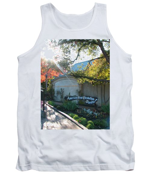 The Show Must Go On - Oregon Shakespeare Festival Theatre - Images From Ashland Oregon  Tank Top
