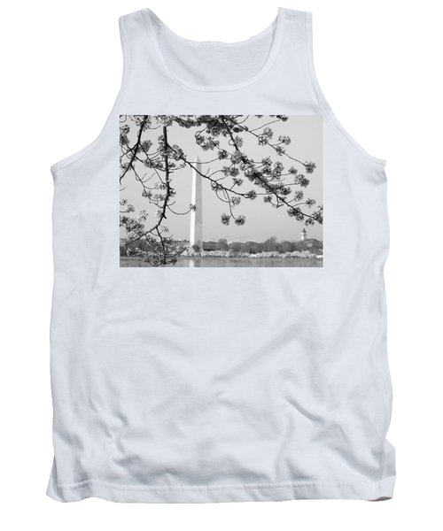 Amongst The Cherry Blossoms Tank Top by Emmy Marie Vickers