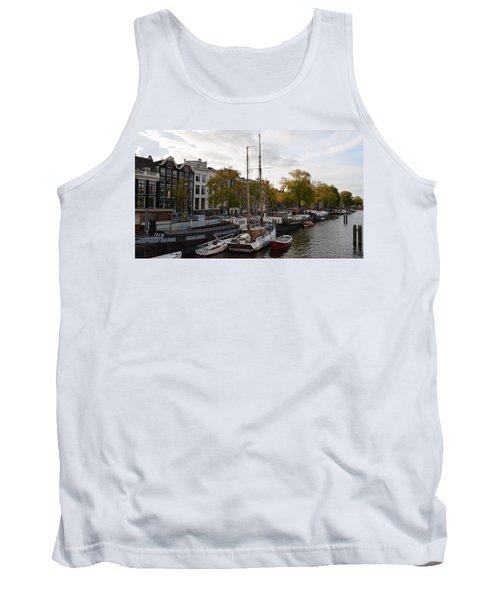 Amstel River Tank Top by Cheryl Miller
