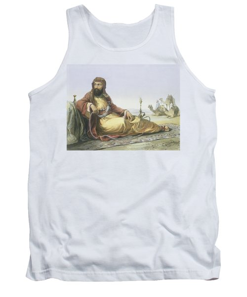 An Arab Resting In The Desert, Title Tank Top