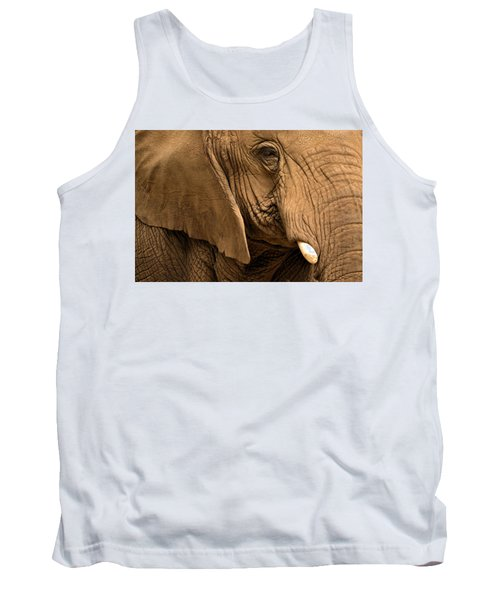 An Elephant's Eye Tank Top