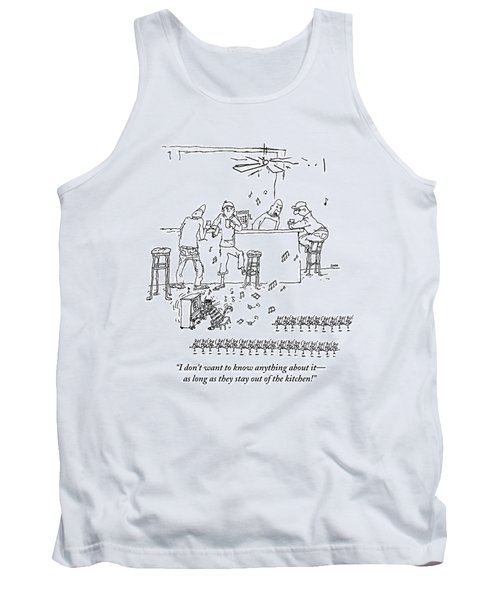 An Invasion Of Dancing Mice And A Cat Pianist Tank Top