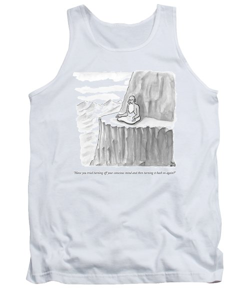 An Old Man Gives Metaphysical Advice Tank Top