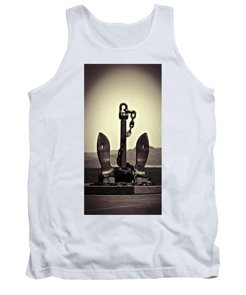 Tank Top featuring the photograph Anchor  by Aaron Berg