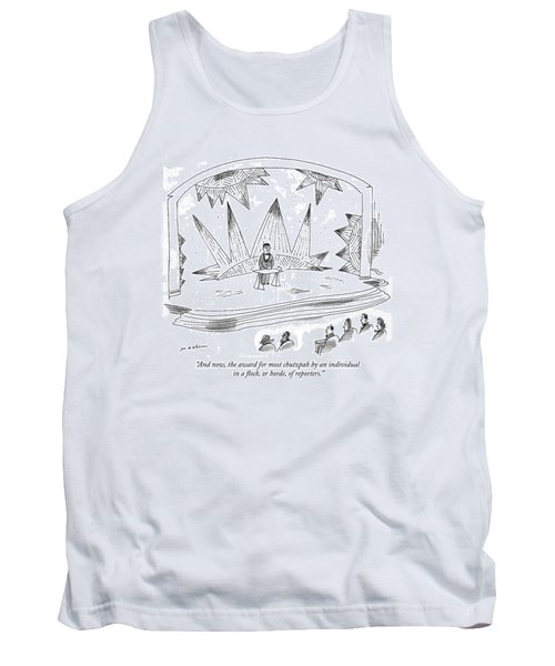 And Now, The Award For Most Chutzpah By An Tank Top