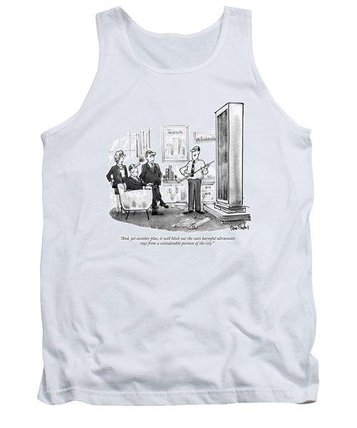 And, Yet Another Plus, It Will Block Tank Top