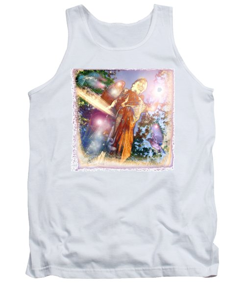 Tank Top featuring the photograph Angel Light by Marie Hicks