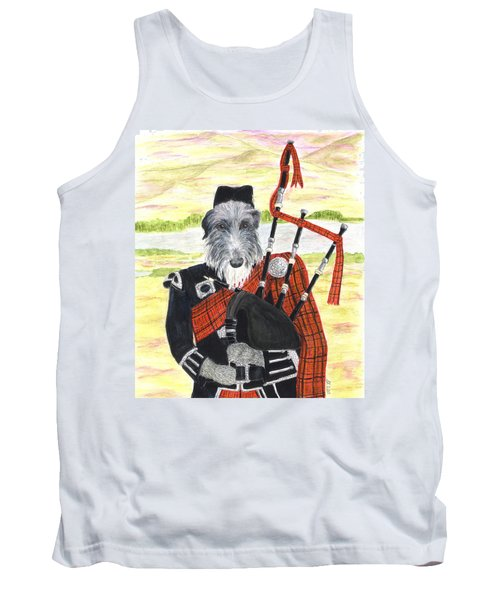 Angus The Piper Tank Top