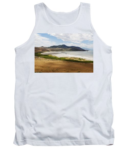 Tank Top featuring the photograph Antelope Island by Belinda Greb