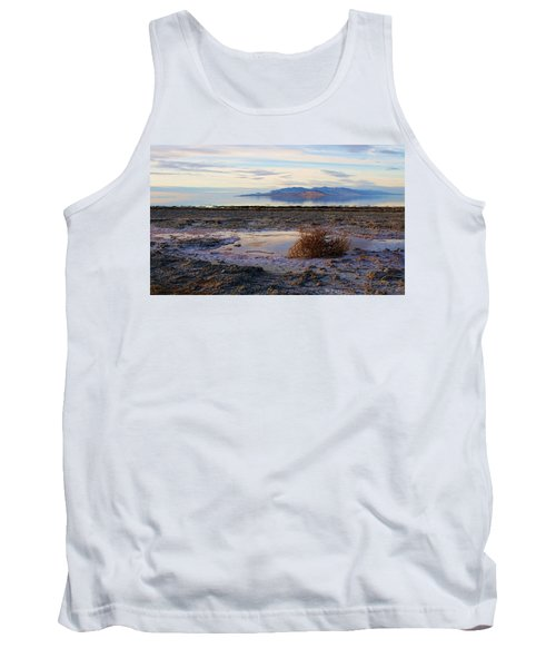 Tank Top featuring the photograph Antelope Island - Tumble Weed by Ely Arsha