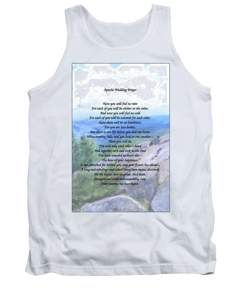 Apache Wedding Prayer Tank Top