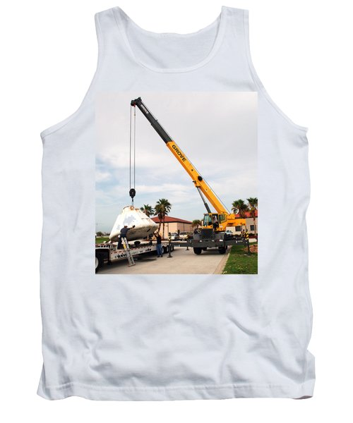 Tank Top featuring the photograph Apollo Capsule Going In For Repairs by Science Source
