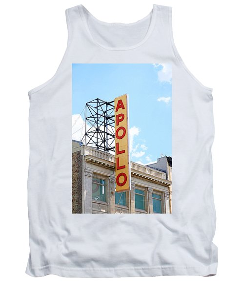 Apollo Theater Sign Tank Top by Valentino Visentini