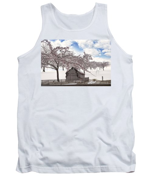 Apparition Tank Top by Liane Wright