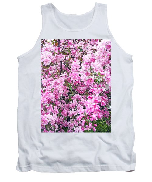 Apple Blossoms Tank Top by Aimee L Maher Photography and Art Visit ALMGallerydotcom