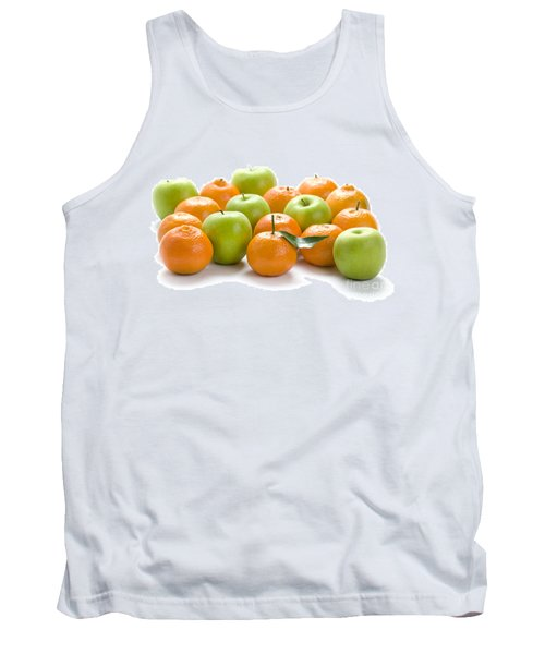 Tank Top featuring the photograph Apples And Oranges by Lee Avison