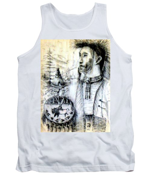 Tank Top featuring the painting Arapaho Cheyenne by Bernadette Krupa