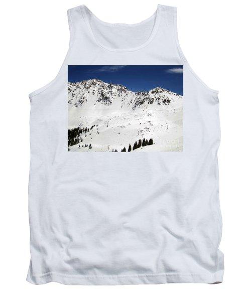 Arapahoe Basin Ski Resort - Colorado          Tank Top by Fiona Kennard